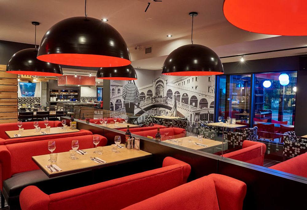 Restaurant italien GATINEAU - Salle à manger - Dining Room - Italian Restaurant