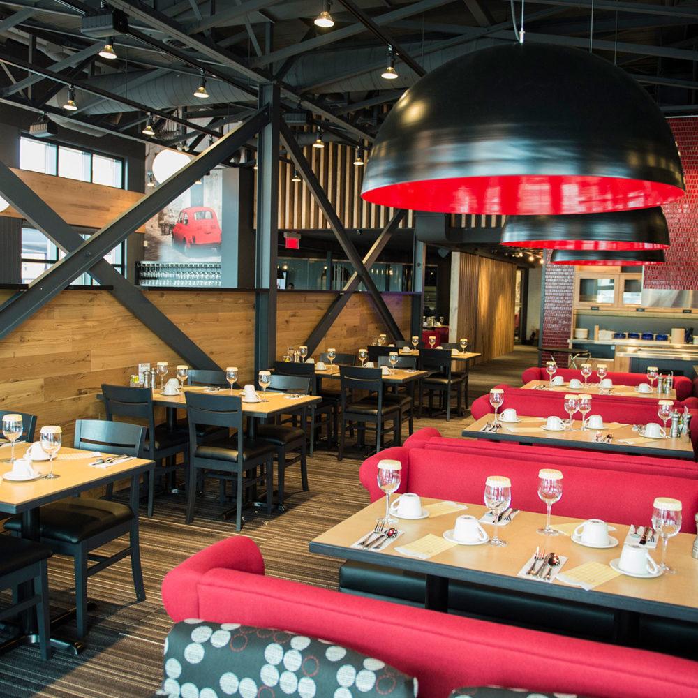 Pacini restaurant italien de Rimouski - Salle à manger