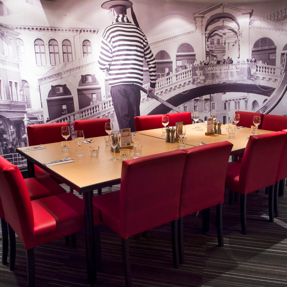 Pacini restaurant italien de Rimouski - Salon