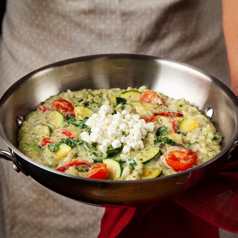 Restaurant italien Pacini - Risotto aux légumes