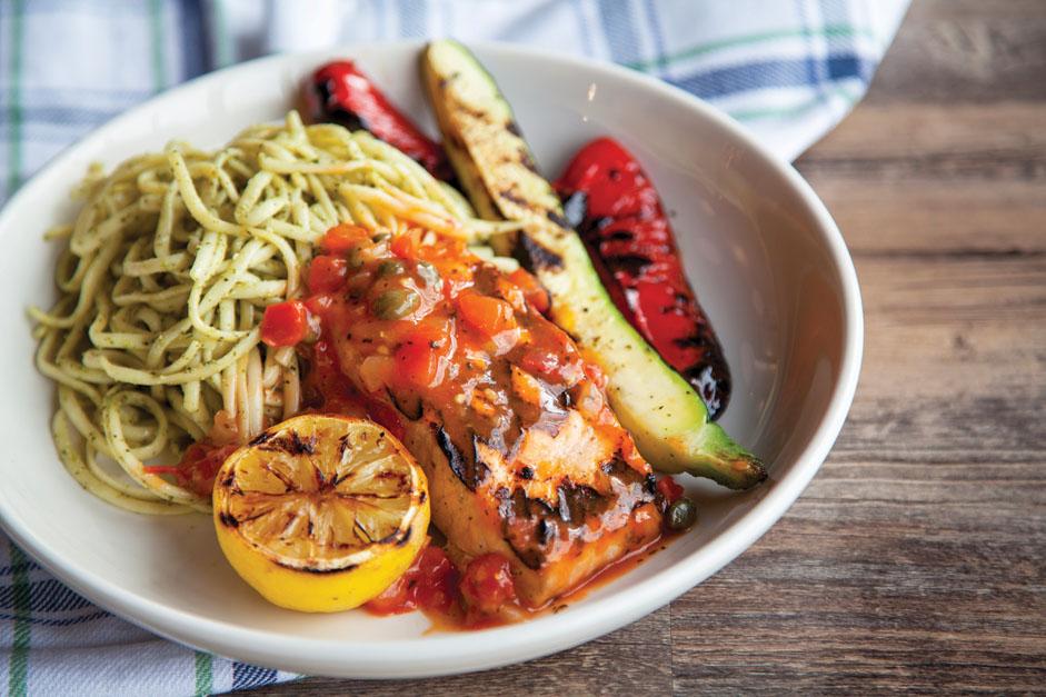 Restaurant italien - Salmone alla griglia