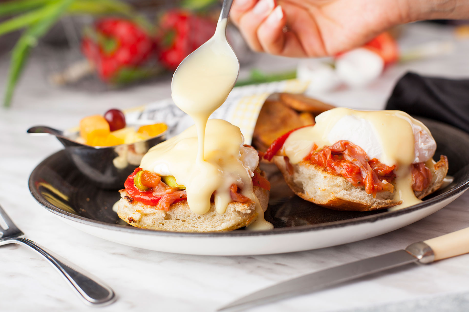 Eggs Benedict All'italiana